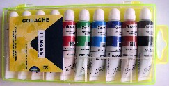 PS38 - TUBES DE GOUACHES